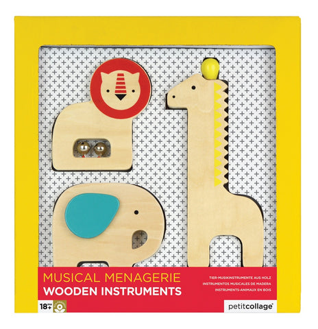 Musical Menagerie Animal Instruments