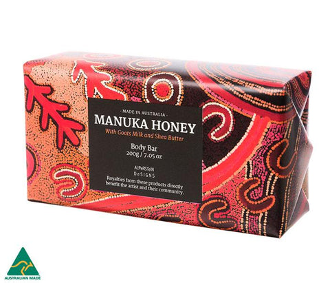 Manuka Honey with Goats Milk & Shea Butter Body Bar