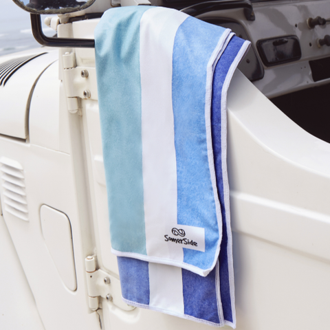 Somerside Towel - Bondi Blue