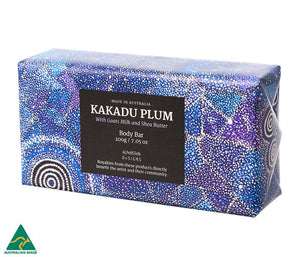 Kakadu Plum with Goats Milk & Shea Butter Body Bar