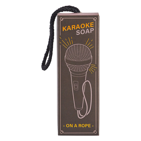 Karaoke Soap on a rope