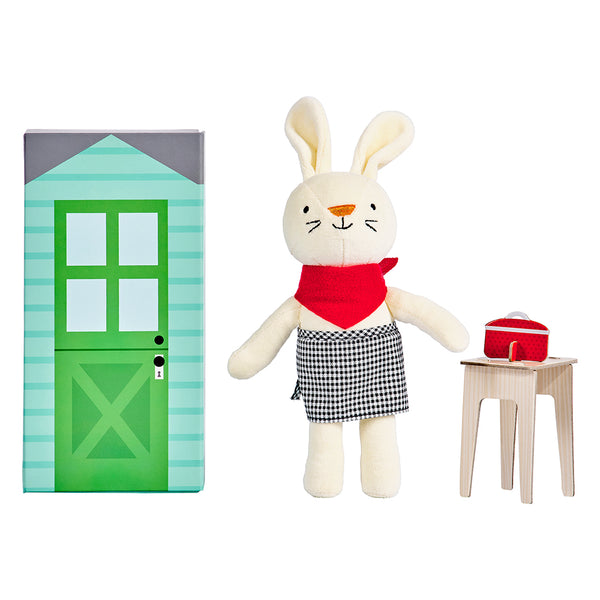 Rubie the Rabbit Playset
