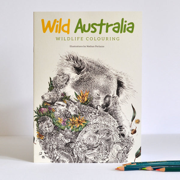 Wild Australia Colouring Book
