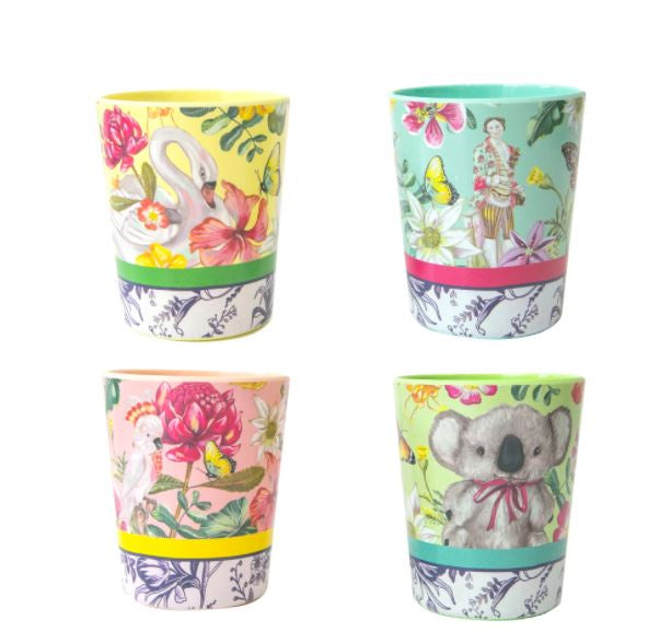 Cup Set - Exotic Paradiso
