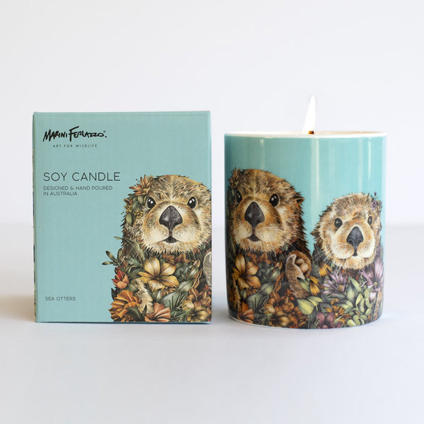 Sea Otters Soy Candle
