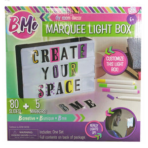 Light Up Marquee Box