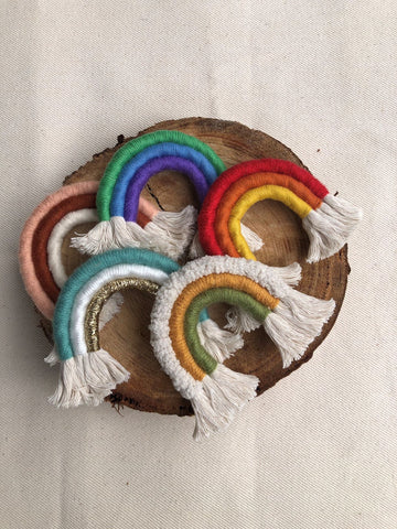 Mini Rainbow Wall Hanging