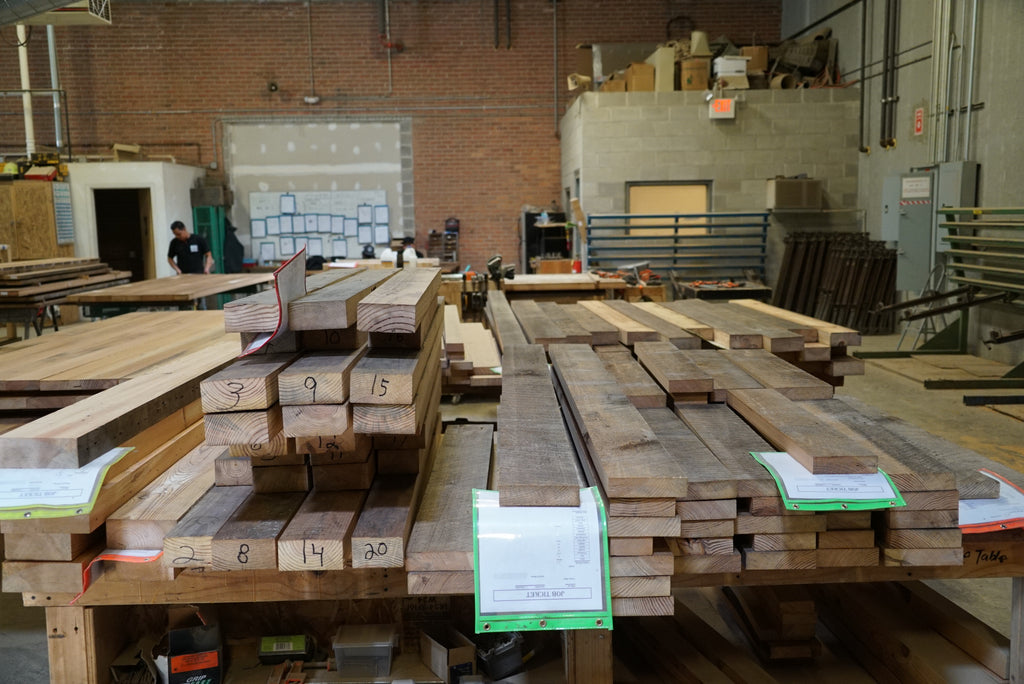 No such thing as a self-driving woodshop; built to order, handmade, custom work is what drives Urban Wood Goods.