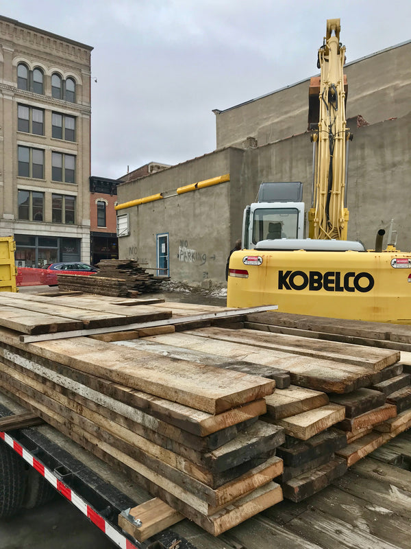 URBAN WOOD GOODS HELPS OFFSET NEGATIVE IMPACTS OF DEMOLITION