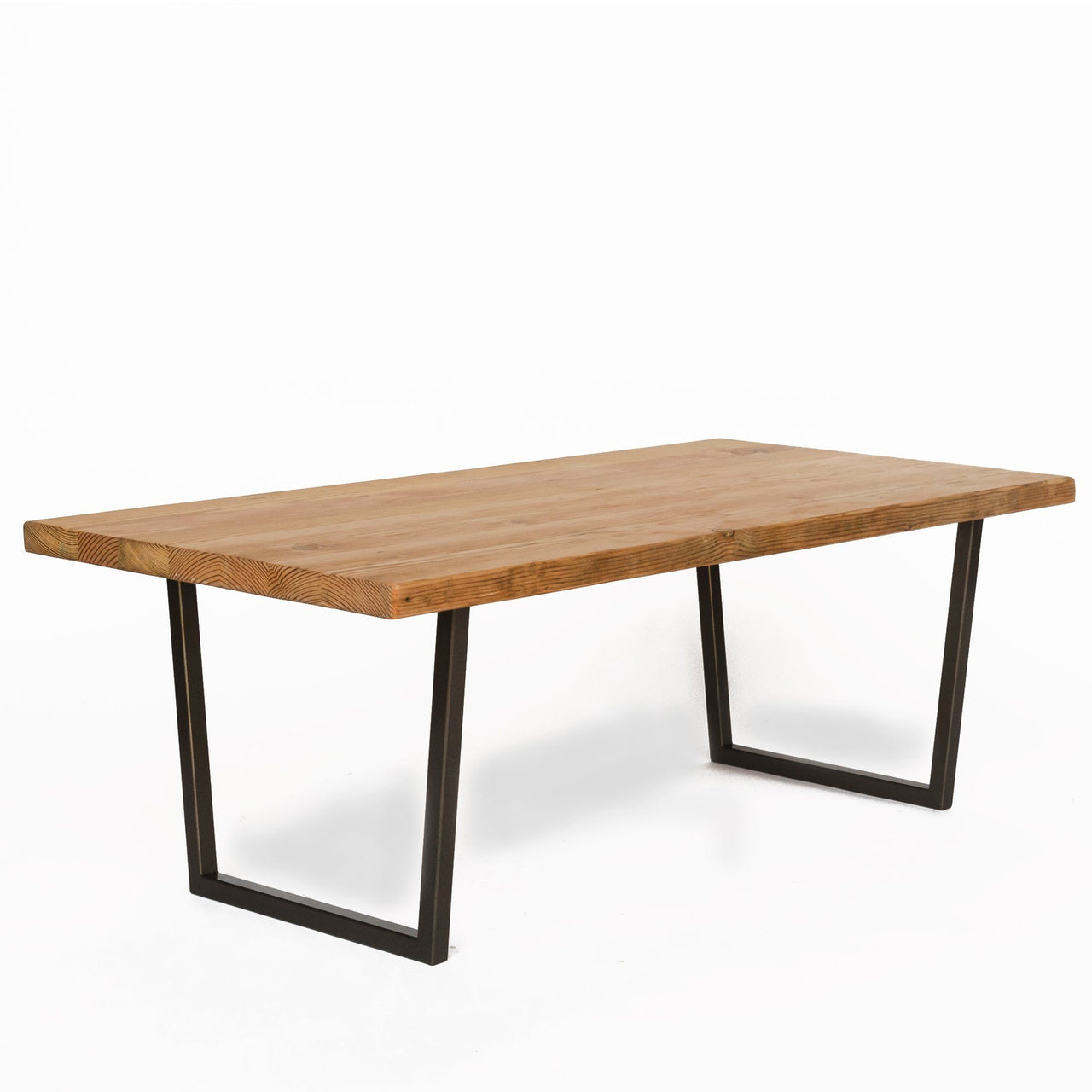 Modern Wood Coffee Table: Brooklyn Modern Rustic Reclaimed Wood Coffee Table