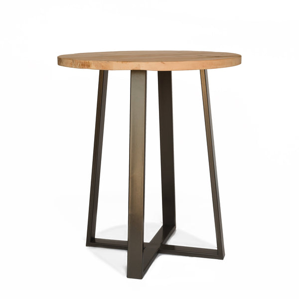 Criss Cross Round Pub Table