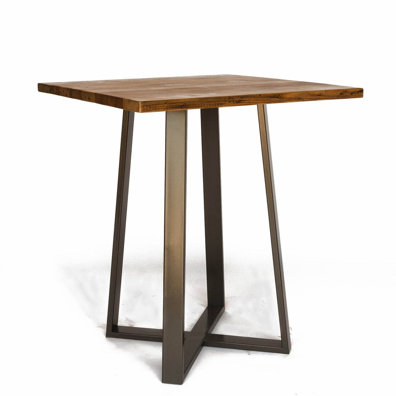 Criss Cross Square Pub Table