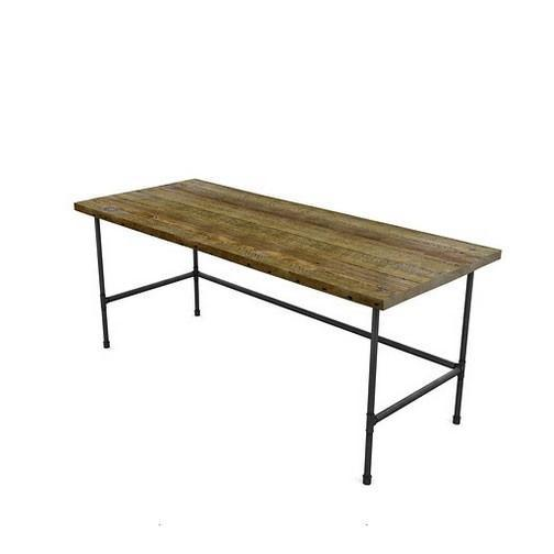 Modern Industry Reclaimed Wood Desk
