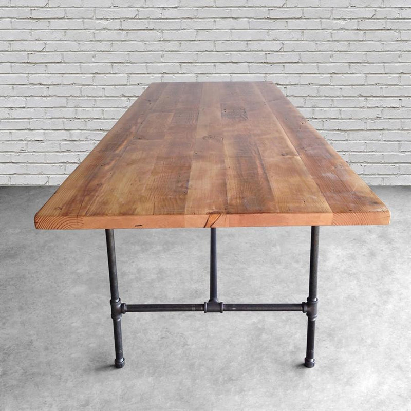 Modern Industry Reclaimed Wood Quick Ship Conference Table