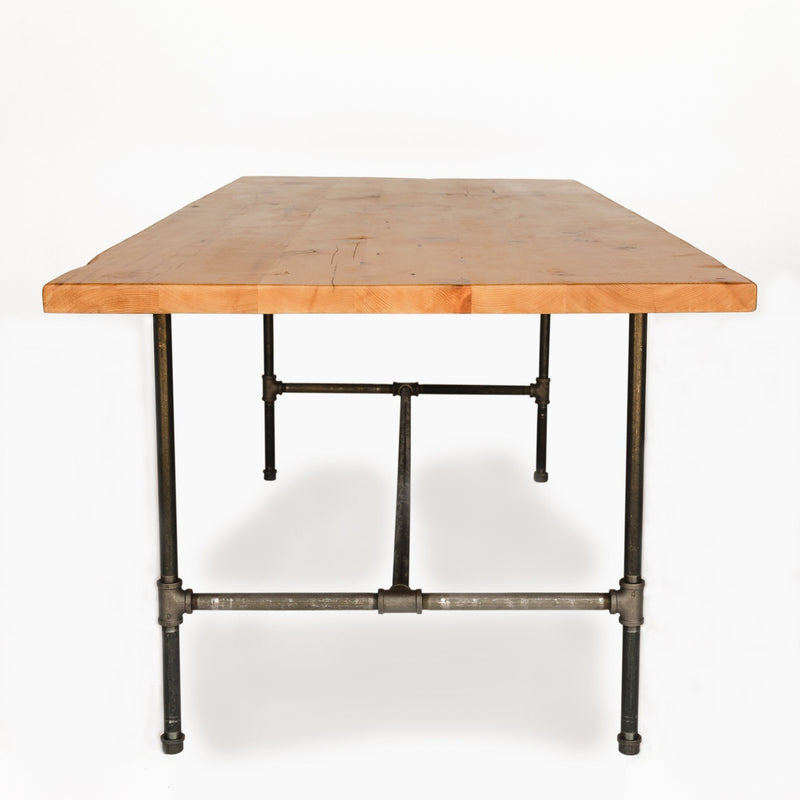 Modern Industry Reclaimed Wood Dining Table