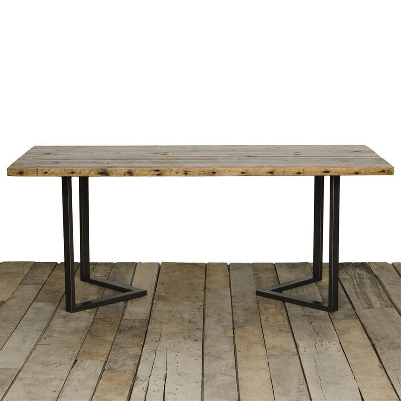 Six Corners Reclaimed Wood Dining Table