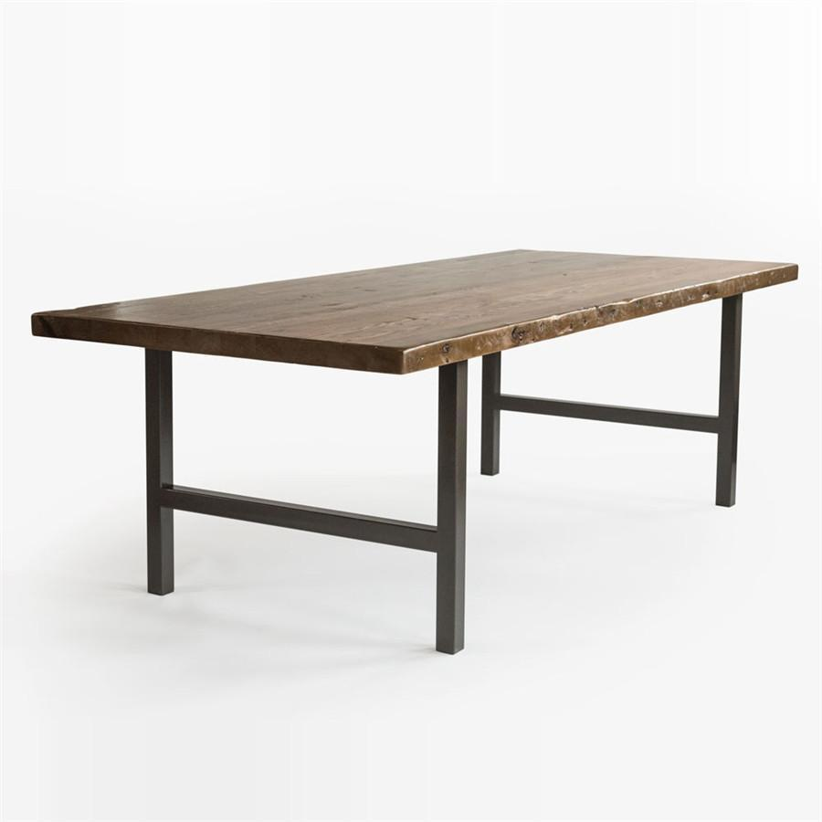 Urban Wood and Steel Quick Ship Conference Table