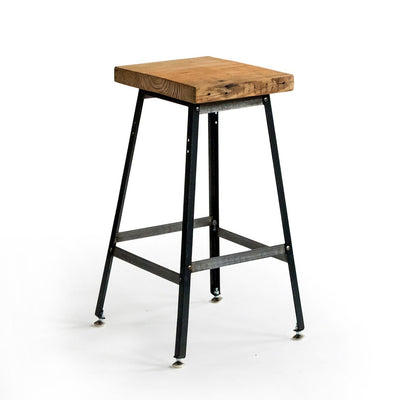 Urban Design Reclaimed Wood Bar Stool