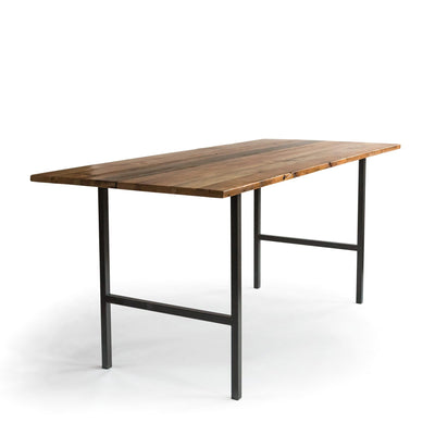 Urban Wood and Steel High Top Table