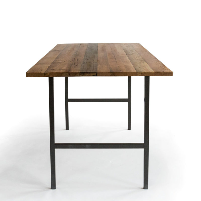 Urban Wood and Steel High Top Dining Table
