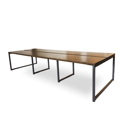 Latitude Double Desk for 6