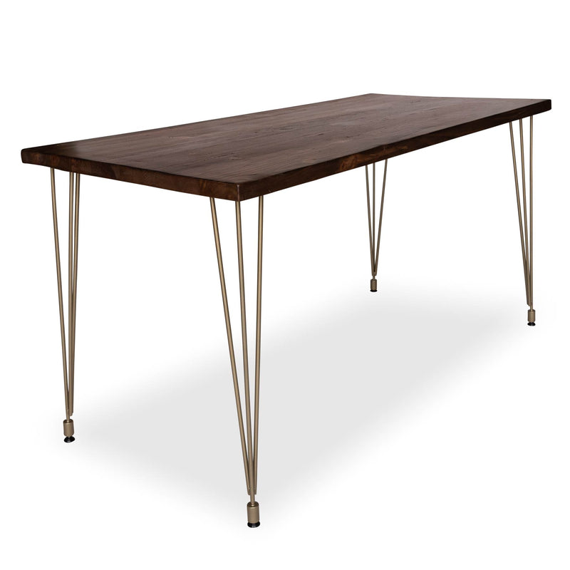 Urban Loft Brass Dining Table