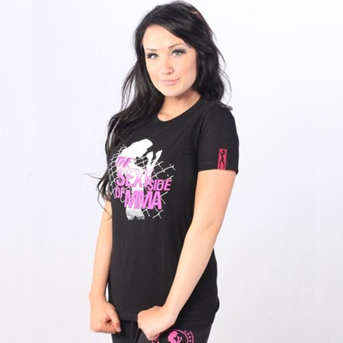 FIGHTCHIX Sexy Side of MMA Womens T-Shirt