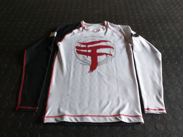WARPATH Omegalon™ BJJ Ranked Long-sleeve Rashguard - White Belt (2020) [MADE TO ORDER]