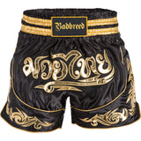 BADBREED Python Polyester Muay Thai Trunks - Black Edition <|||>