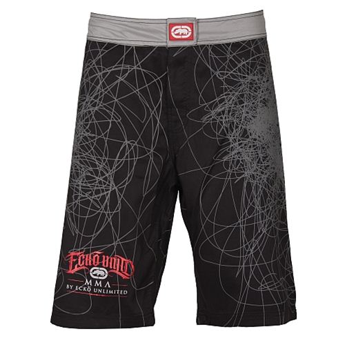 ECKO MMA Scribble Fightshorts - Front