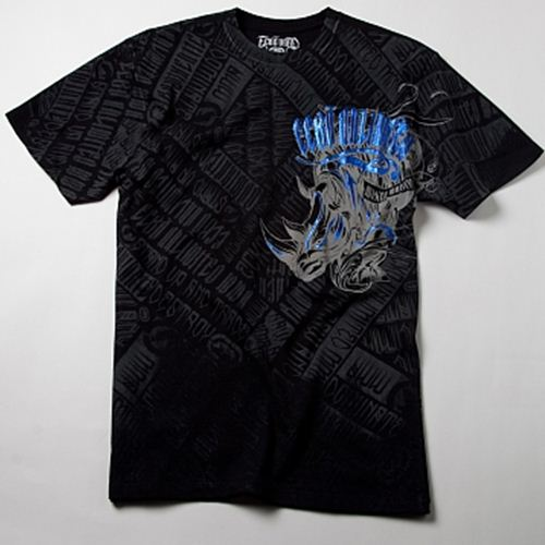 ECKO MMA Stomp T-Shirt - Black : Medium [LAST ONE]