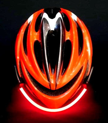 FIBREFLARE MVP Red Optic Fibre Helmet Light