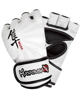 HAYABUSA Ikusa (War) Competition 4oz MMA Gloves - White