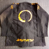 WARPATH Jukutatsu Limited Edition BJJ Gi - Black : Rear