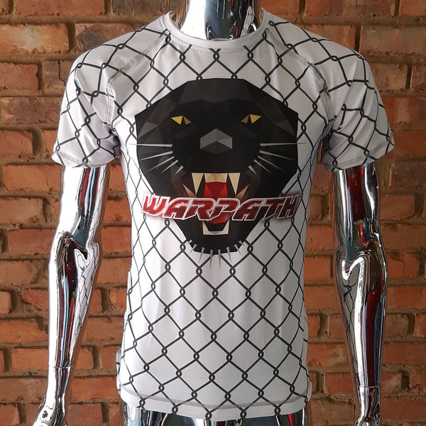 WARPATH Caged Panther™ Short-sleeve Rashguard