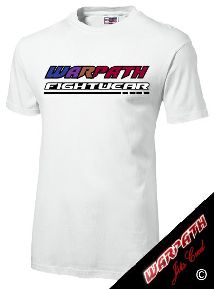 WARPATH Jits Cred™ Cotton T-Shirt - White