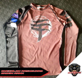 WARPATH Omegalon BJJ Ranked Rashguard - Brown Belt