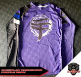 WARPATH Omegalon BJJ Ranked Rashguard - Purple Belt
