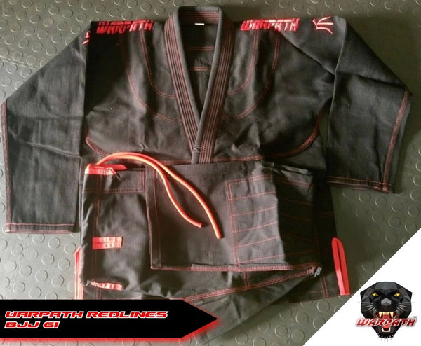 WARPATH Redlines™ BJJ Gi