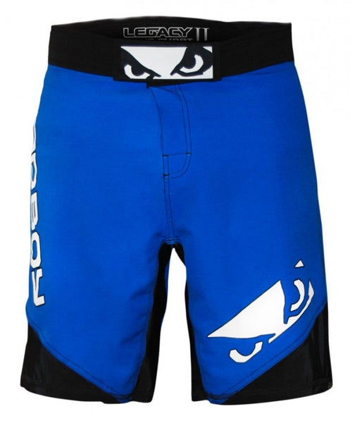 BADBOY Legacy 2.0 Fightshorts - Blue Edition : Small {30} [BACK ORDER] <|||>