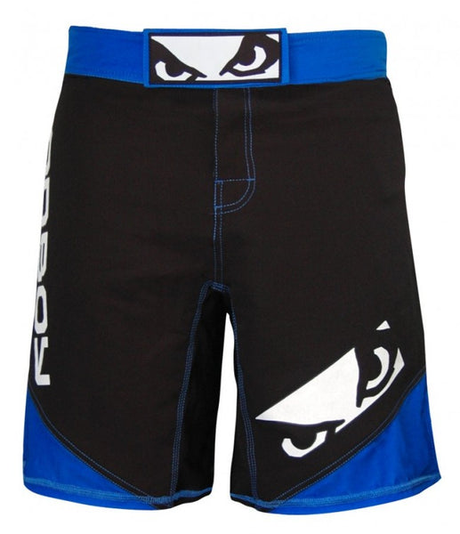 BADBOY Legacy 2.0 Fightshorts - Black & Blue [BACK ORDER]