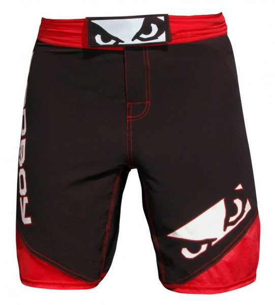 BADBOY Legacy 2.0 Fightshorts - Black & Red [BACK ORDER] <|||>