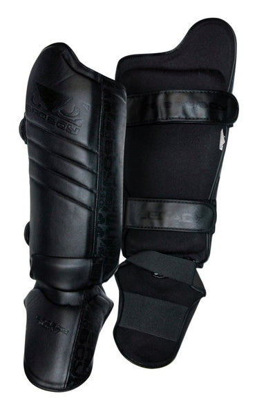 BADBOY Legacy Shin Guards - Black [BACK ORDER]