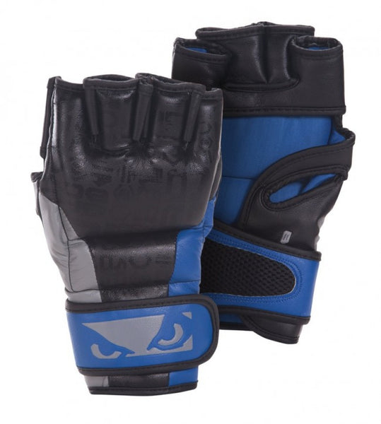 BADBOY Legacy MMA Gloves - Black & Blue [BACK ORDER] <*>