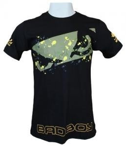 BADBOY Fusion Cotton T-Shirt - Black [BACK ORDER]