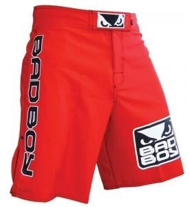 BADBOY World Class Pro 2.0 Fightshorts - Vibrant Red [BACK ORDER]