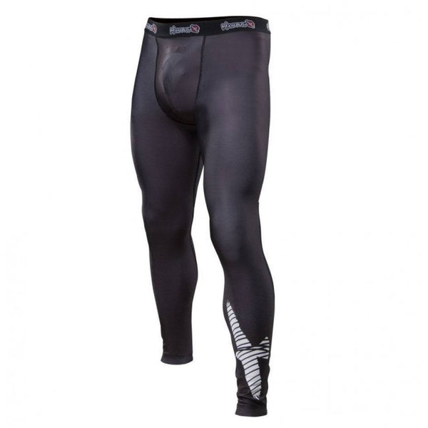 HAYABUSA Haburi Spats with Groin Cup Pocket - Black Edition