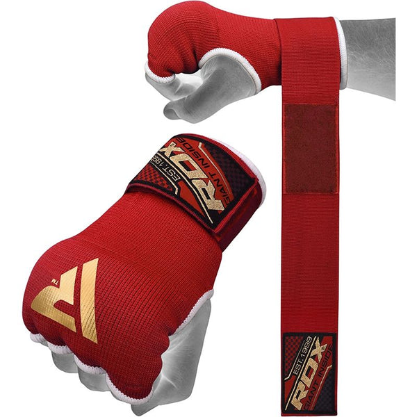 RDX IS Gel Padded Inner Gloves - Red