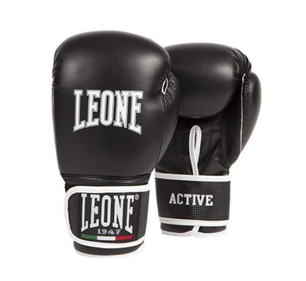 LEONE1947 Active Boxing Gloves - Black [BACK ORDER]