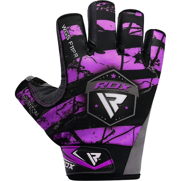 RDX F11 Camouflage Gym\Workout Gloves - Purple